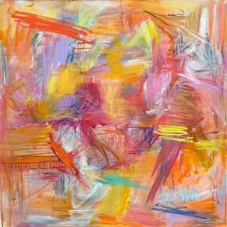 """""""Moab Trail"""" by Trixie Pitts Large Abstract Expressionist Oil Painting For Sale"""