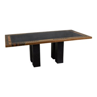 """1990s Postmodern """"Collage"""" Rectangular Dining Table For Sale"""