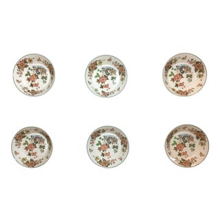 Vintage Wedgewood Autumn Harvest Scone Dishes - Set of 6 For Sale