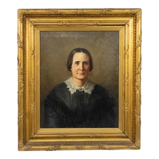 American Victorian Lady Portrait For Sale