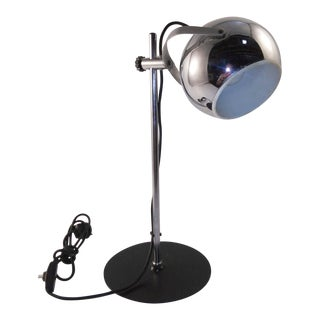 1960s Mid-Century Modern European Desk Lamp For Sale