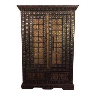 Decorative Indian Cabinet