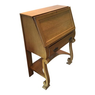 1930's Vintage Italian Secretary Desk For Sale
