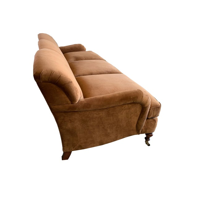 English Ralph Lauren Langholm Sofa in Like New Condition For Sale - Image 3 of 11
