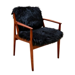 1960s Arne Vodder Danish Modern Teak Lounge Chair For Sale