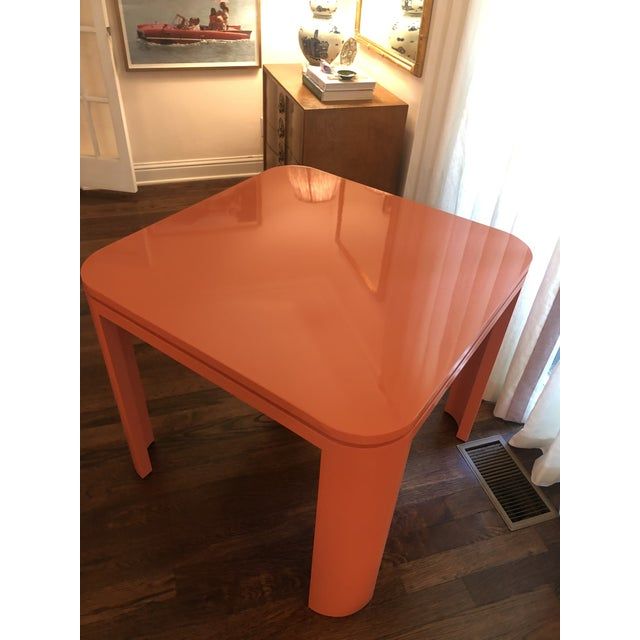 Custom Mid Century Modern Game Table For Sale In Dallas - Image 6 of 6