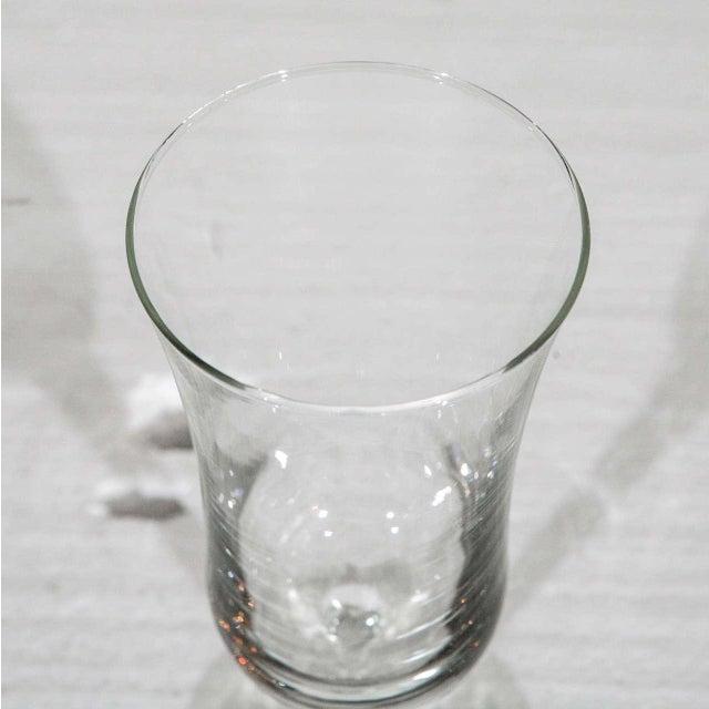 1940s Danish Modern Holmegaard Crystal Cordial Glasses - Set of 6 For Sale In Los Angeles - Image 6 of 9