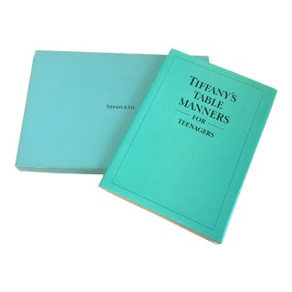 "Tiffany & Co. ""Tiffany's Table Manners for Teenagers"" Book For Sale"