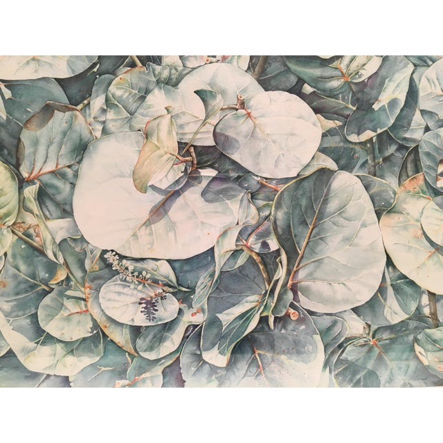 Original Framed Watercolor Painting by Anna Chen For Sale In West Palm - Image 6 of 9