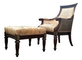 Image of Tuscan Chair and Ottoman Sets