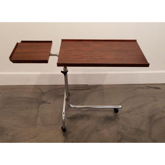 Danecastle Aps Rosewood Adjustable Bedside Desk or Table For Sale - Image 4 of 13