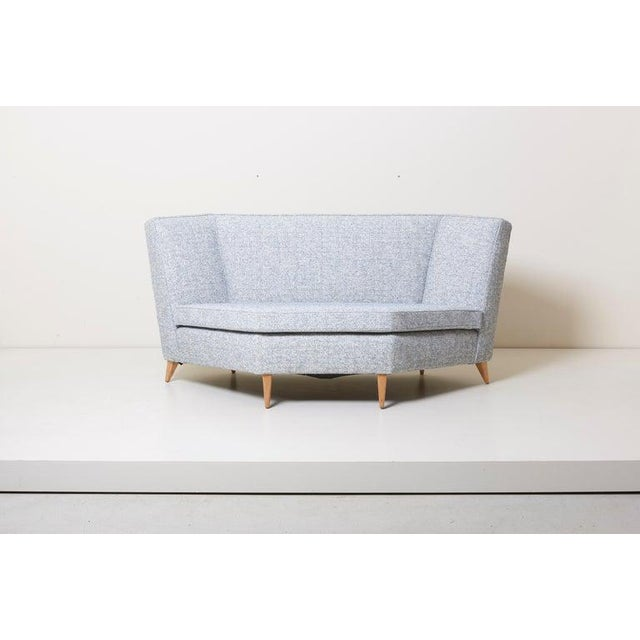 Paul McCobb Sectional Corner Sofa Custom Craft/ Planner Group Newly Upholstered For Sale - Image 9 of 13