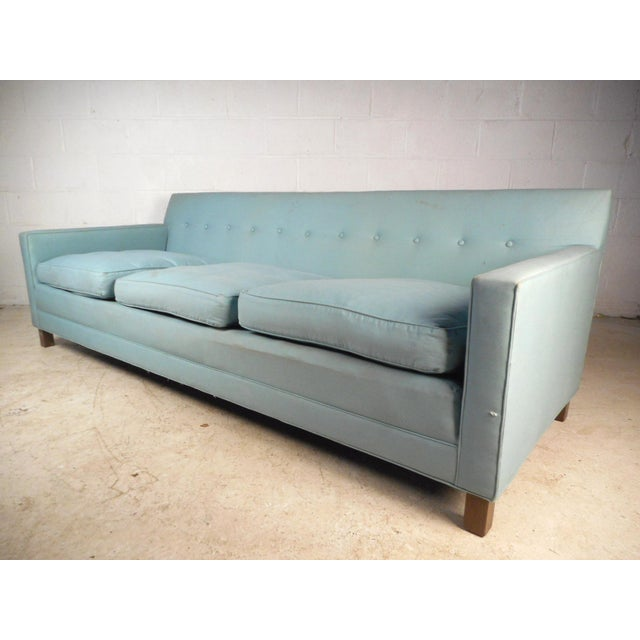 Mid-Century Modern Mid-Century Modern Sofa by Dunbar For Sale - Image 3 of 10