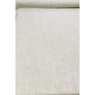 Rogers & Goffigon Tundra Puffin Grey Tweed Uk Imported Designer Fabric - 6 3/4 Yards For Sale