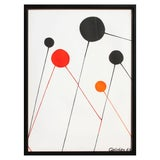 Image of Alexander Calder - Balloons Lithograph For Sale