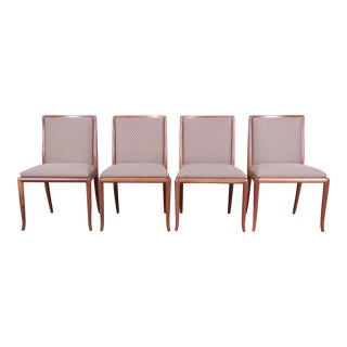 Robsjohn-Gibbings for Widdicomb Saber Leg Dining Chairs, Set of Four For Sale