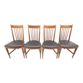 Kroehler Spindle Back Dining Chairs - Set of 4 For Sale