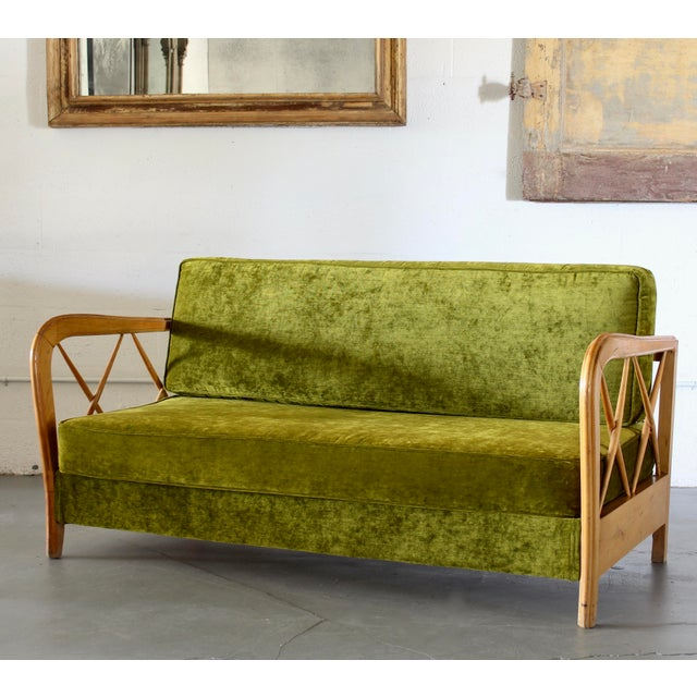 Fabric Paolo Buffa Day Bed For Sale - Image 7 of 7