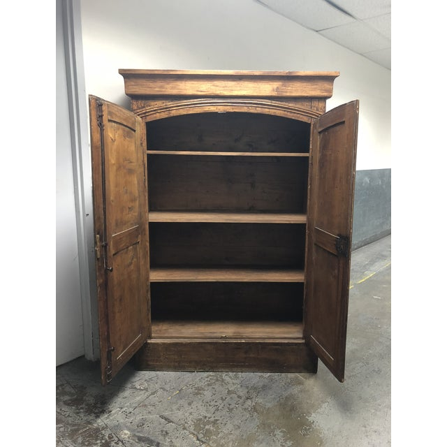 Vintage Pine Armoire - Image 4 of 10