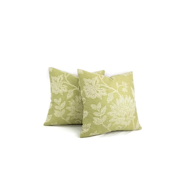 Colefax and Fowler Kenrick Floral Jacquard Pillow Cover For Sale - Image 4 of 6