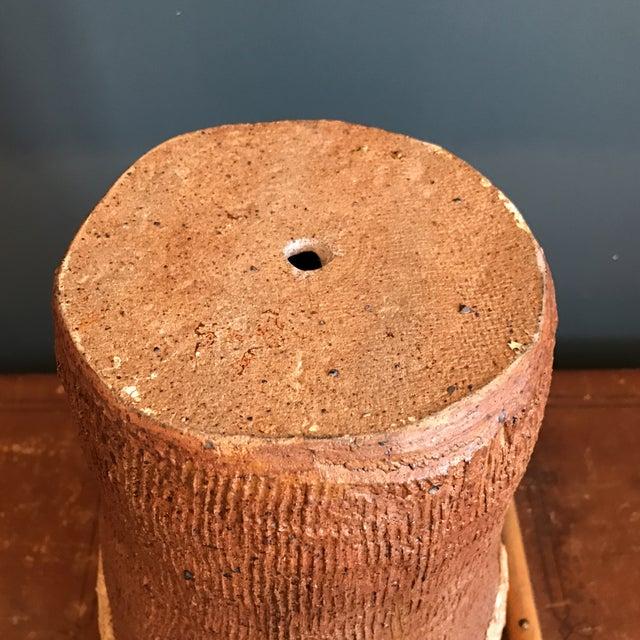 Indian Head Ceramic Vase - Image 9 of 9