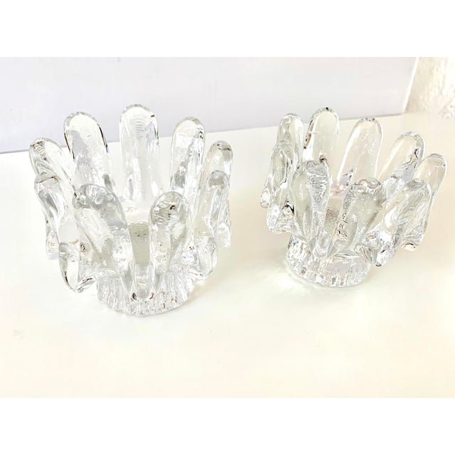 1970s 1970s Kosta Boda Candle Holders - a Pair For Sale - Image 5 of 11