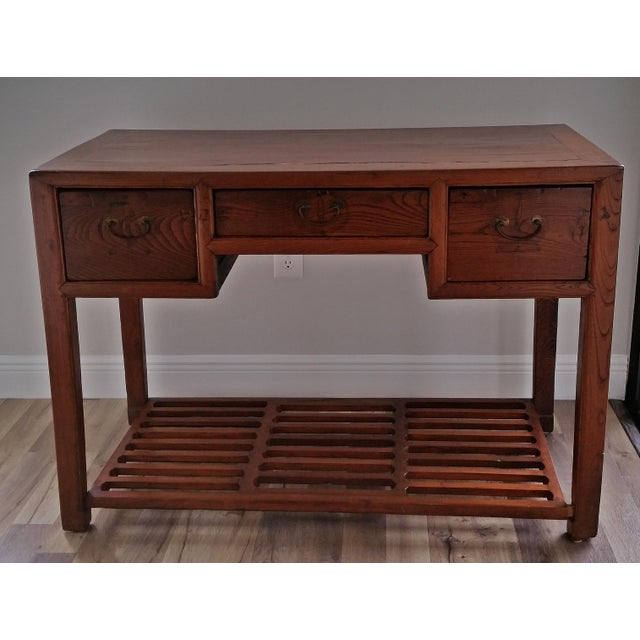 Antique Asian Writing Desk For Sale - Image 11 of 11