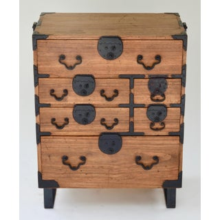 19th Century Japanese Tansu With Hand Forged Hardware Preview