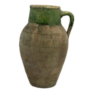 Antique Turkish Oil Jar For Sale