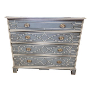 Transitional Theodore Alexander 4-Drawer Dresser For Sale