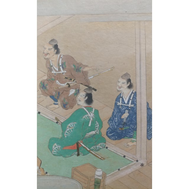 Chinese Antique Paintings on Paper - a Pair For Sale - Image 4 of 10