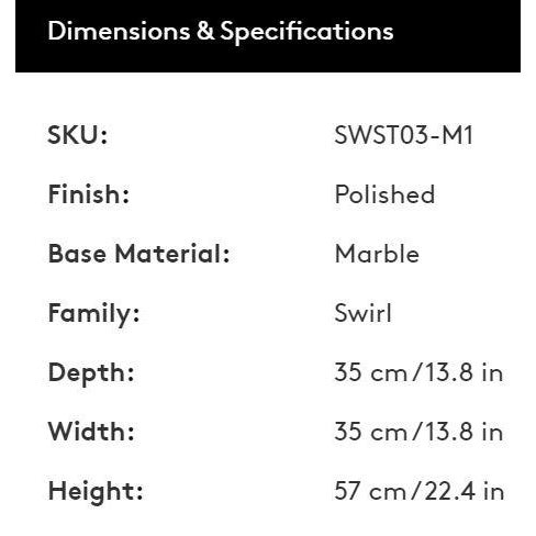 Black Tom Dixon Swirl Side Table For Sale - Image 8 of 9