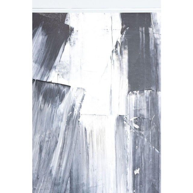 Canvas An Abstract Expressionist Oil on Canvas, Renato Freitas For Sale - Image 7 of 9