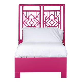 Tulum Bed Twin Extra Long - Bright Pink For Sale