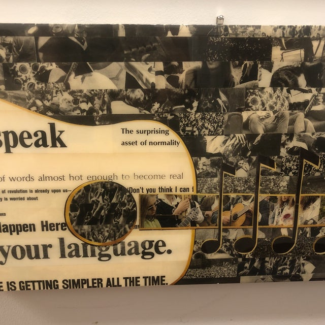 Original Magazine Collage by Charla Steele For Sale In Atlanta - Image 6 of 13