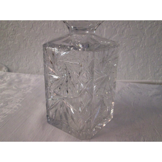 Cut Crystal Liquor Decanters - S/3 - Image 5 of 7