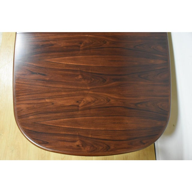 Danish Rosewood Dining Table - Image 7 of 11