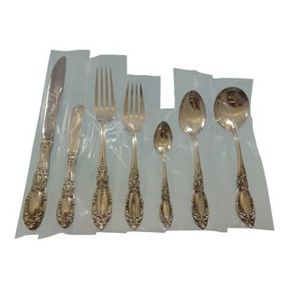 King Richard by Towle Sterling Silver Flatware Set for 8 Service 60 Pieces For Sale