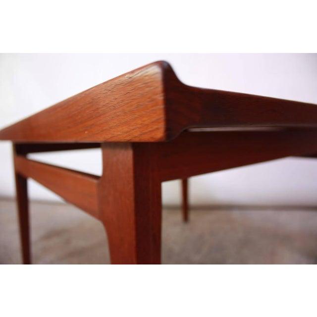 Early Finn Juhl for France and Daverkosen Teak Coffee Table - Image 5 of 10