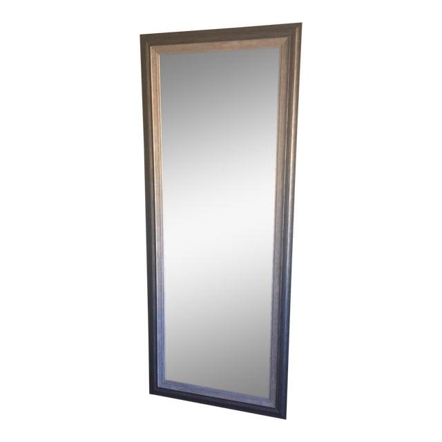 Contemporary Gray Floor Mirror - Image 1 of 6