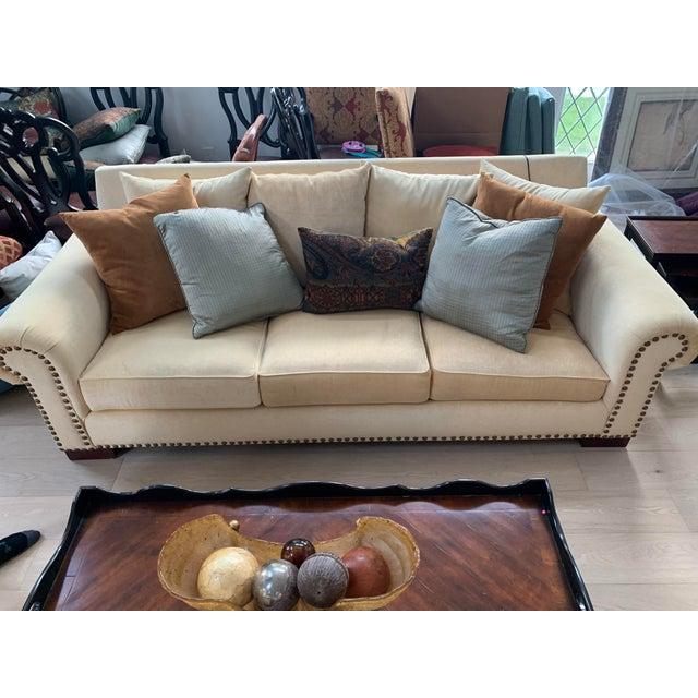 21st Century Custom Made Sofa For Sale - Image 4 of 4