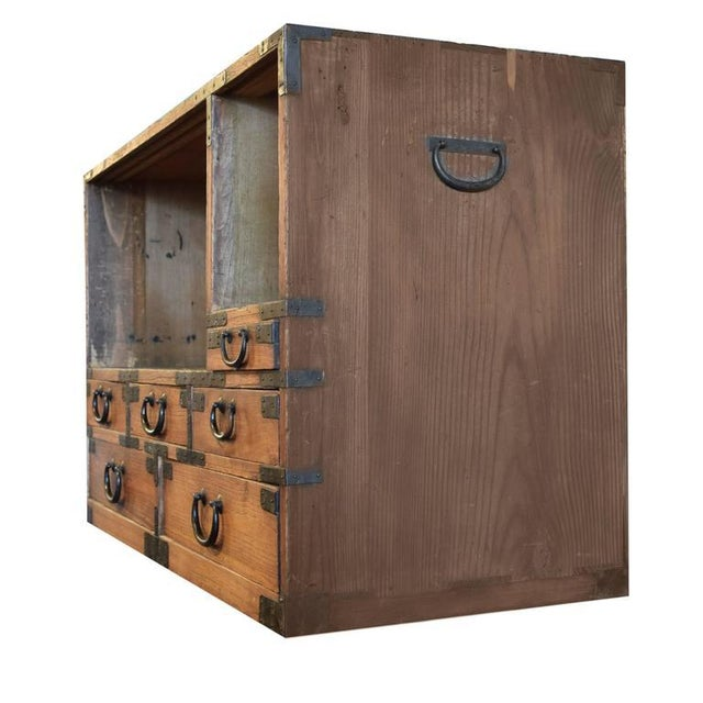 Japanese Tansu Chest - Image 3 of 6