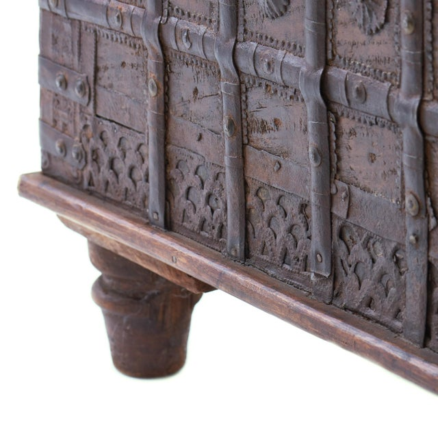 19th Century Indian Dowry Chest For Sale - Image 4 of 5