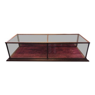 1990s Glass Countertop Store Display Showcase For Sale