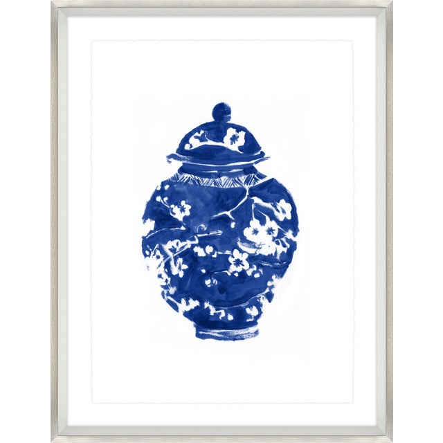Sapphire Chinoiserie Print Set Framed Kenneth Ludwig Chicago - 17 Pieces For Sale In Los Angeles - Image 6 of 12