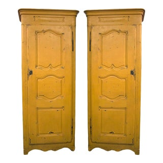 Mid 19th Century French Bonneteire Cabinets - a Pair For Sale