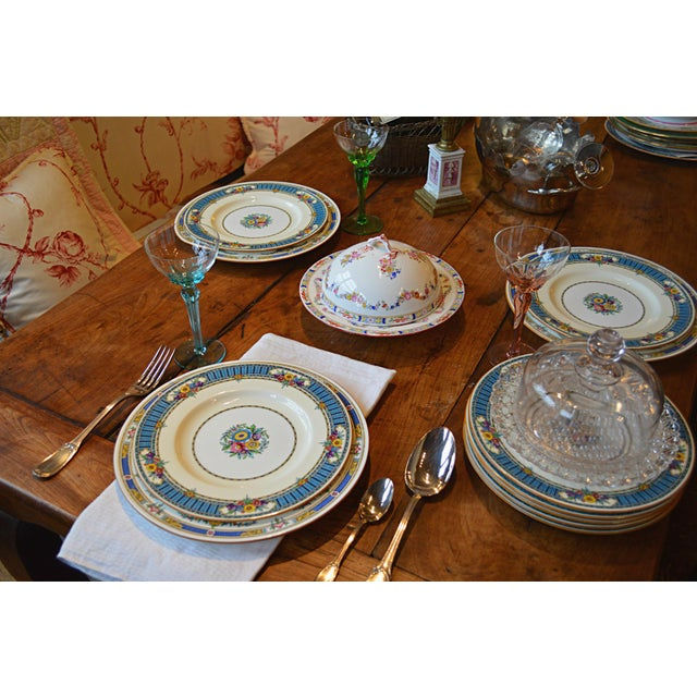 Vintage Minton Luncheon Plates - Set of 8 - Image 4 of 11