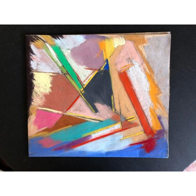 "2010s ""Napa"" Original Pastel by Erik Sulander 12x10.5 For Sale - Image 5 of 5"