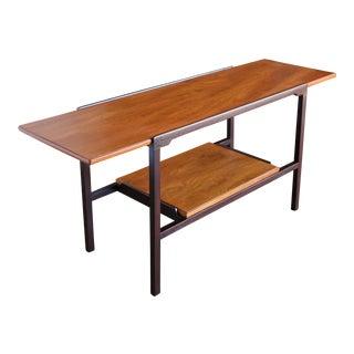 Mid 20th century Edward Wormley for Dunbar Walnut Console Table