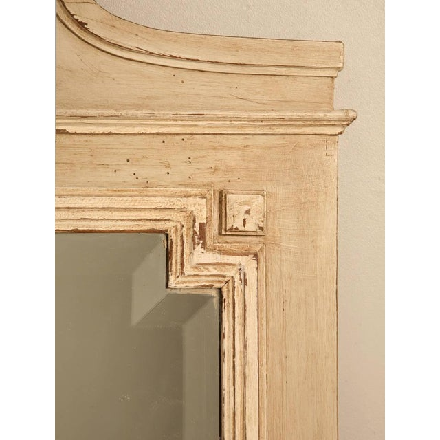 Circa 1890 French Painted Mirror - Image 10 of 11